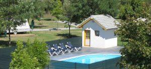 Camping Les Eygas in Frankrijk met zwembad