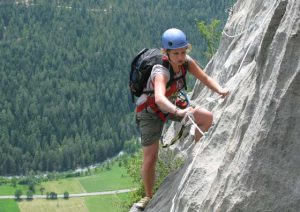 Klettersteigen in Frankrijk bij Camping Les Eygas