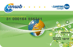Korting op het campingtarief met de Camping Key Europe Card