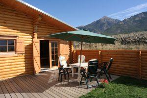 chalet huren op Camping Les Eygas