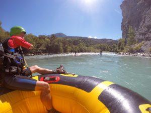 River tubing in Frankrijk